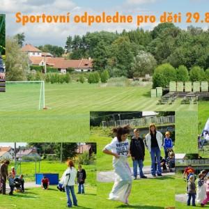 Sportovní odpoledne 2010